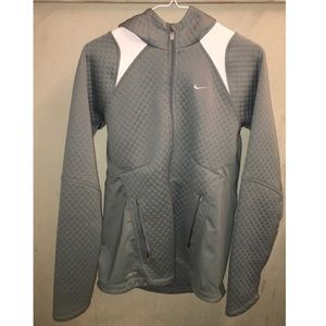 Thicker Nike jacket (green)